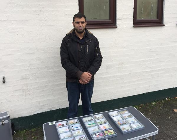 Imran Akhtar visits more than 30 mosques around Birmingham, showing a wide variety of drug paraphernalia to help educate parents about the risks to their children. Akhtar also uses these visits to talk about the risks of radicalization.