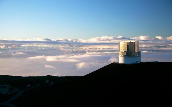 Astronomers searching for an undiscovered planet in the outer solar system hope to catch a glimpse of it Thursday through the Subaru Telescope located on top of Hawaii's Mauna Kea mountain.