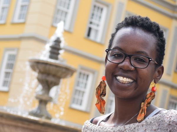 "Sitawa Wafula found out she had bipolar disorder at the age of 24. In October, she was named one of Kenya's ""40 Women Under 40."""