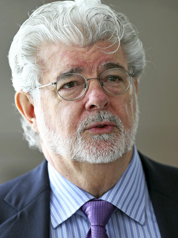 George Lucas, pictured here in 2014, has announced that his museum will be built in Los Angeles. San Francisco had also been in the running.