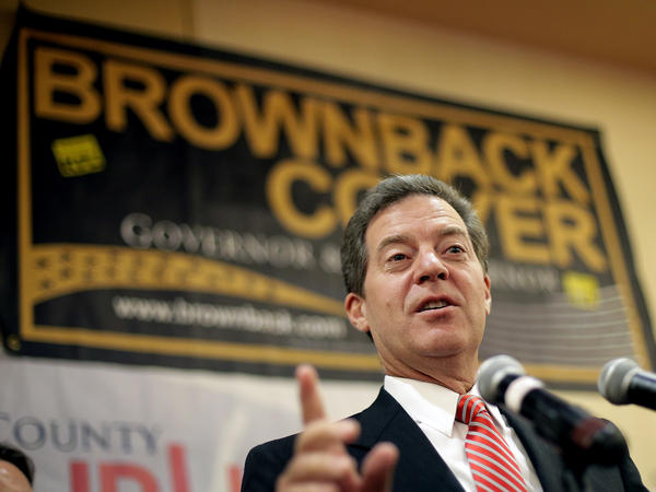 Kansas Gov. Sam Brownback.