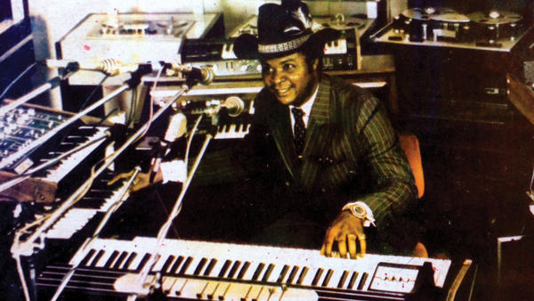 William Onyeabor composed and self-released nine albums of synth-funk from 1977-1985 before his conversion to Christianity.