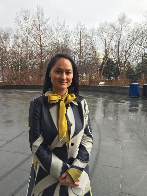 Carmen Perez is one of the organizers of the Women's March on Washington.