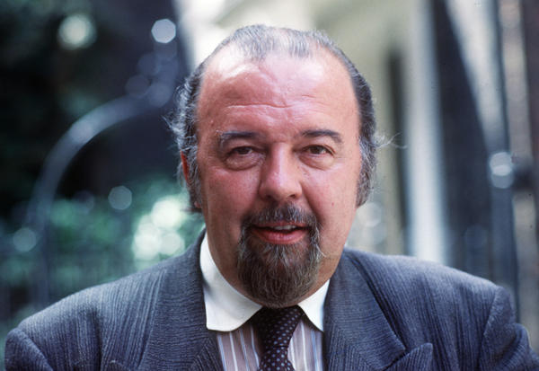Sir Peter Hall ran the Royal Shakespeare Company and the National Theatre. He's pictured above in London in July 1987.