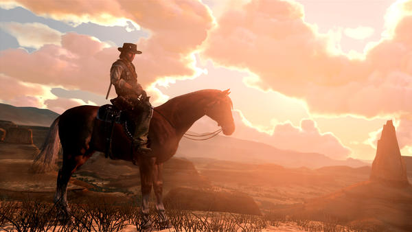 Writer and critic Jason Sheehan calls Red Dead Redemption his favorite Western of all time — surpassing even <em>The Outlaw Josey Wales.</em>