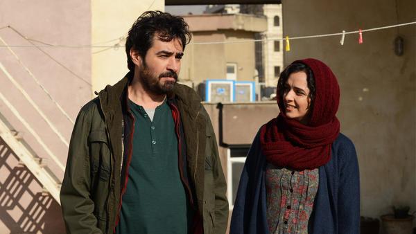 Shahab Hosseini and Taraneh Alidoosti in Asghar Farhadi's <em>The Salesman</em>.
