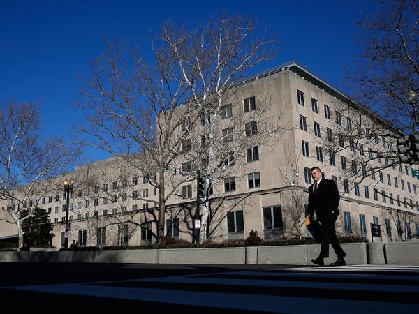 At the State Department, employees are expressing concern via an official dissent channel about the Trump administration's temporary visa and refugee ban.