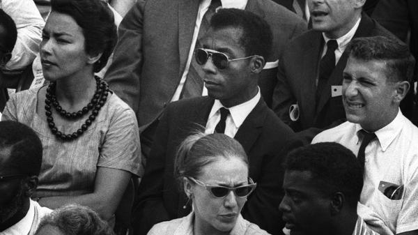 James Baldwin in <em>I Am Not Your Negro</em>