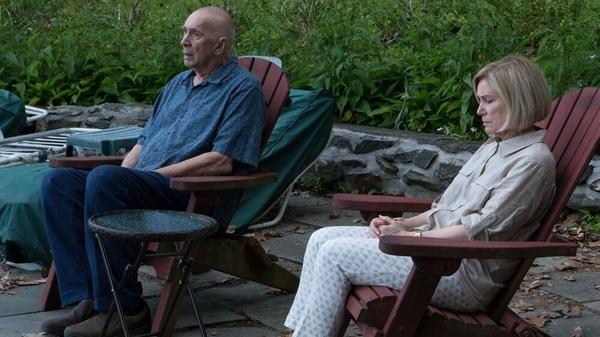 Ray (Frank Langella) and Estelle (Mary Kay Place) plan a trip in <em>Youth in Oregon</em>.