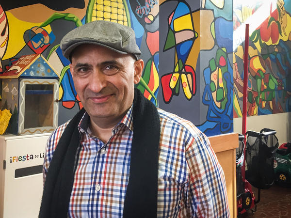 Advertising and marketing consultant Eduardo Fernandez at Plaza La Fiesta, a mall that caters to Hispanic shoppers on Atlanta's diverse Buford Highway.