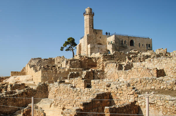 Israeli archaeologists are excavating ruins of a residential quarter dating back to the 2nd century B.C. at the Nebi Samuel site in the West Bank. According to an Israeli-Palestinian agreement, the status of the West Bank – and the artifacts found there – are to be negotiated in eventual peace talks.