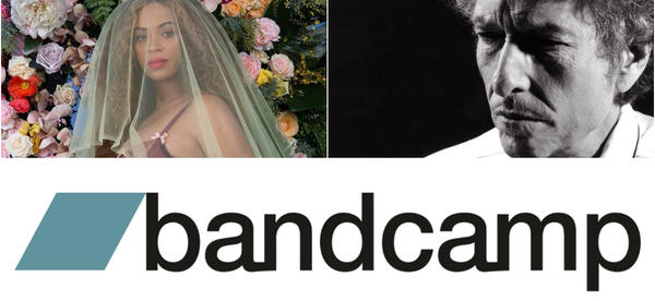 Beyoncé, Bob Dylan and Bandcamp: Highlights of the week in music news.