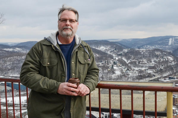 Michael McGough, born and raised in Johnstown, Pa. says President Donald Trump scares him, especially after seeing what he's done his first two weeks in office.