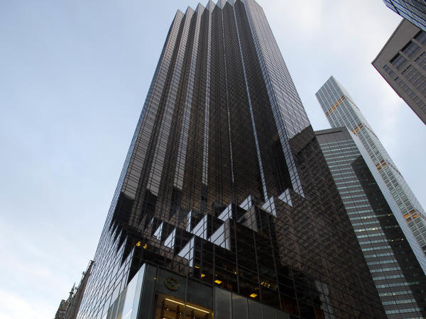 A floor of office space in Trump Tower, where President Trump lives with his family in a penthouse apartment, can rent for as much as $1.5 million a year.