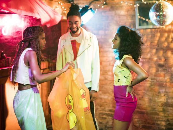 "Sonia Denis, Rashaad Hall and Nabila Hossain headline <em>Brown Girls, </em>a drama focused on the friendship of Leila, a queer South Asian writer, and Patricia, a ""sex positive"" black musician."