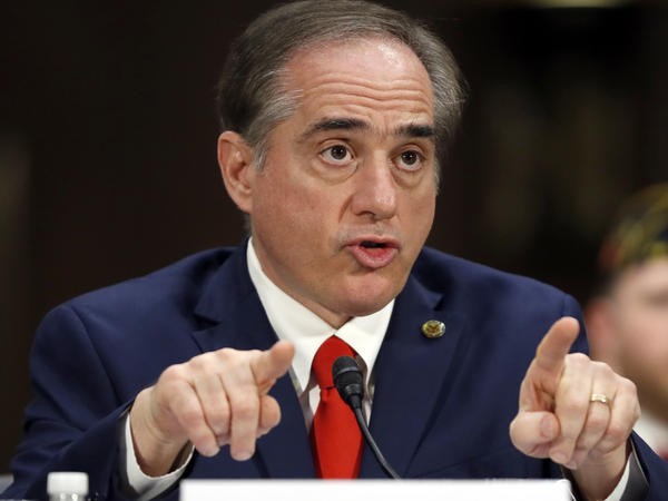 Veterans Affairs Secretary-designate Dr. David Shulkin, then the undersecretary for health at the VA, testifies on Capitol Hill Feb. 1. Shulkin was confirmed on Monday.