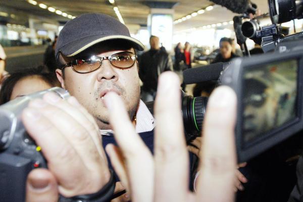 Kim Jong Nam, eldest son of North Korean leader Kim Jong-il, in Beijing in 2007. He died Monday, according to South Korean intelligence.