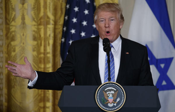 President Trump, speaking at the White House on Wednesday, criticized the leaks surrounding his departed national security adviser, Michael Flynn. On the campaign trail, Trump encouraged leaks against his rival Hillary Clinton and said they were inevitable.