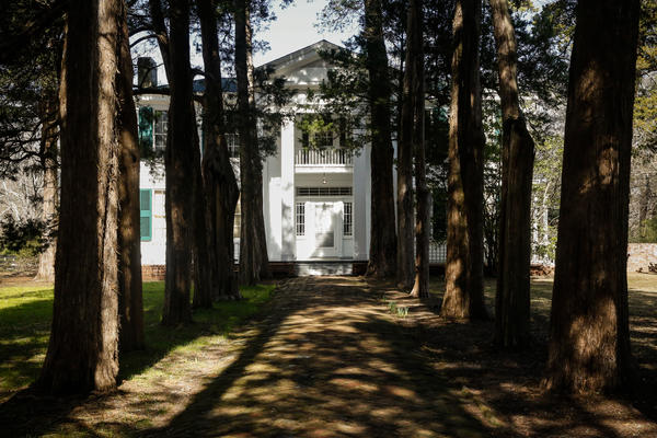 Rowan Oak, William Faulkner's home in Oxford, Miss.