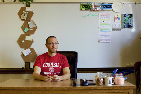Aaron Lowenkron, a math teacher at Denver's East High, says treating schools like free-market startups has done little to ease equity gaps.