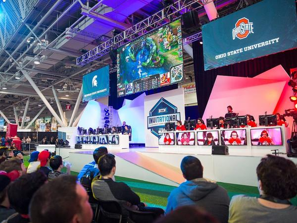 Big Ten Network and Riot Games invited teams from Michigan State and Ohio State to play an invitational League of Legends match at the PAX East video game conference in Boston in April 2016. Ohio State won the match, 2-1.