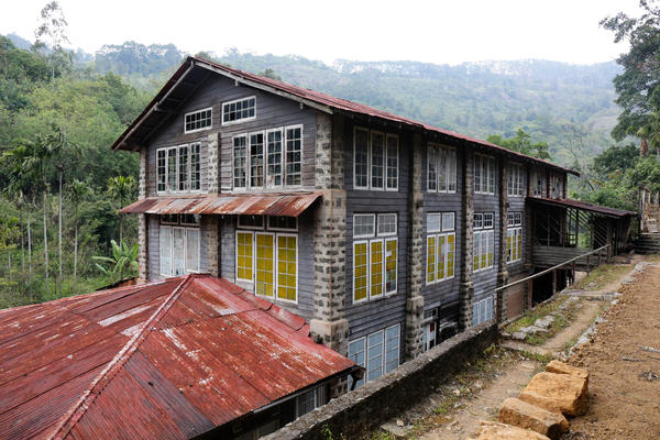 An old, abandoned tea factory sits on the Amba property. The partners are renovating it to become an eco-friendly hotel, allowing them to expand their bustling tourism business.