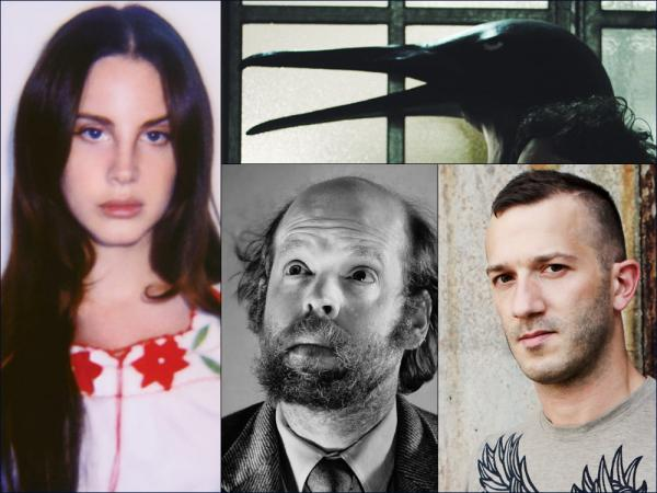 "Clockwise from upper left: Lana Del Rey, The Penguin Cafe, Colin Stetson, Bonnie ""Prince"" Billy"