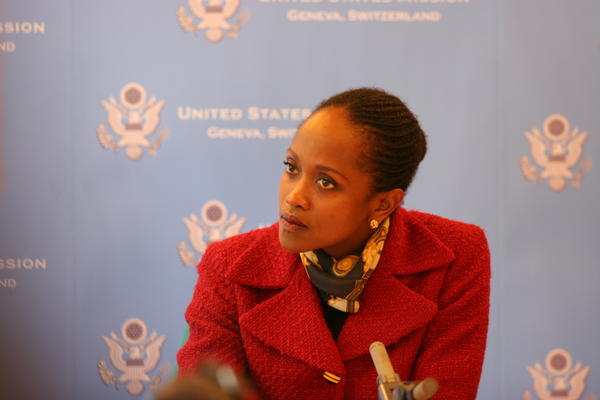 Dr. Esther Brimmer, former Assistant Secretary of State for International Organizations.