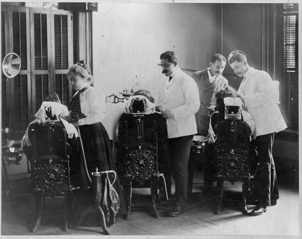 Dental school at Howard, circa 1899