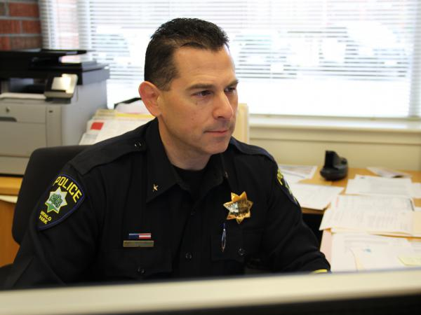 Dave Bertini, commander at the Menlo Park Police Department, believes police departments should try to mirror the communities they serve.