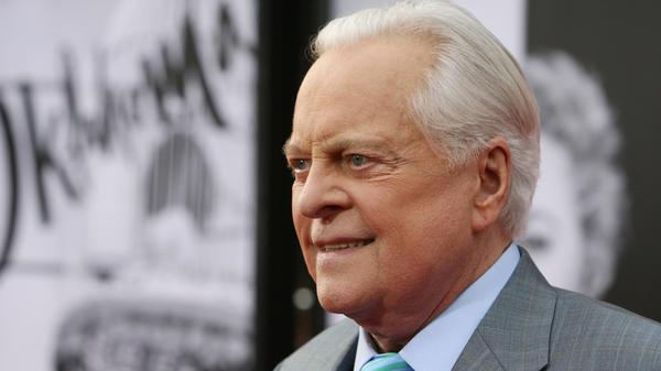 TV host Robert Osborne attends TCM Classic Film Festival's opening night gala of <em>Oklahoma!</em> in Hollywood in 2014.