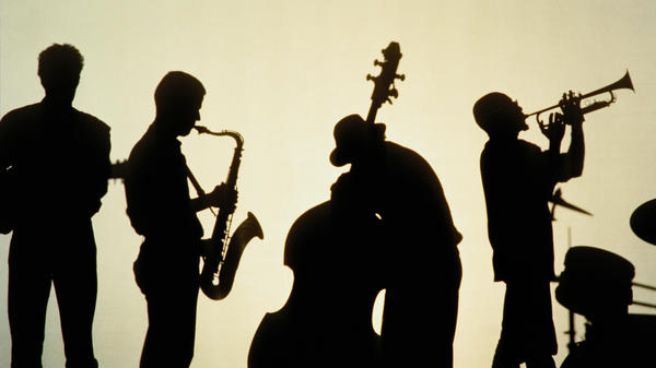 Anonymous (male) jazz players.
