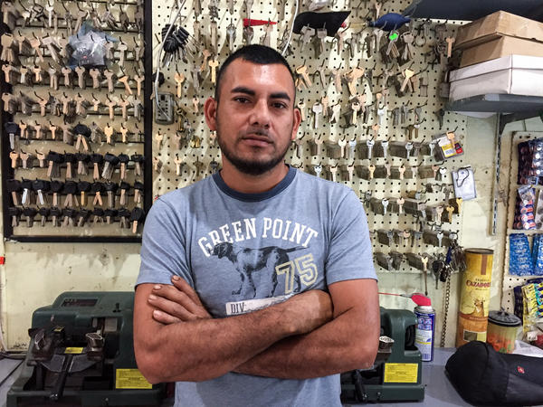 Horacio Gutierrez, 30, traveled to Reynosa from southern Mexico with the intention of using Reynosa as his departure point to the United States.