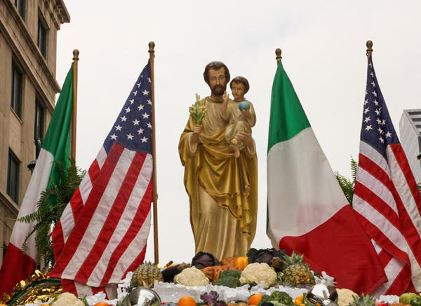 Every year, on the Saturday nearest March 19th, a parade and meal steeped in Italian-American traditions honor the feast day of St. Joseph, the patron saint of Sicily.