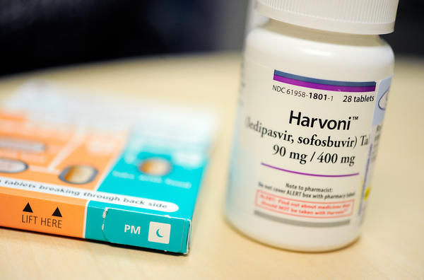Gilead Sciences' Harvoni can cure hepatitis C, but costs tens of thousands of dollars for a course of treatment.