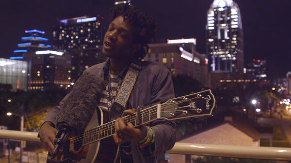 "L.A. Salami performs ""Day To Day (For 6 Days A Week)"" during SXSW."