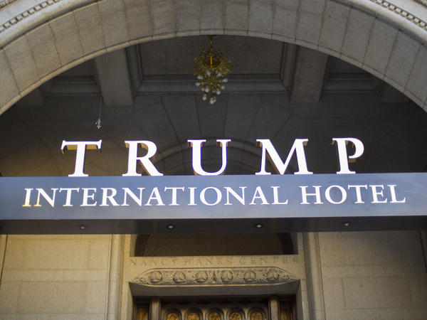 The annual conference has taken place in recent years at Washington's Ritz-Carlton hotel but is scheduled this May for the Trump International Hotel.