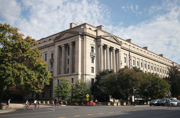The U.S. Department of Justice is one of several parts of the government that have the power to hold the president and his appointees accountable on ethics.