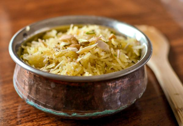There are many rituals associated with the Hindu Sindh holiday Cheti Chand, which falls on March 29 this year. One that continues to hold meaning for the author is the consumption of <em>tahri, </em>or sweet rice, during <em>langar</em>, the communal meal at the end of the celebration.