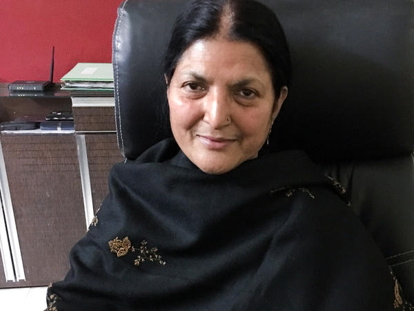 "Seema Parveen, 42, has been divorced by three different men. In India's Muslim community, a husband can divorce his wife by uttering the word <em>""talaq""</em> — Arabic for divorce."