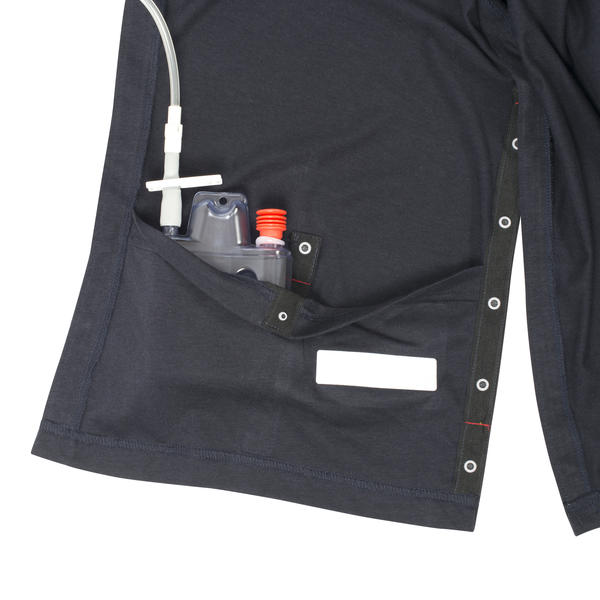 INGA Wellbeing jersey top with internal drain pockets.