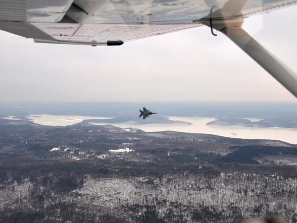 The Massachusetts Civil Air Patrol and the 104th Fighter Wing participate in an alert scramble exercise at Barnes Air National Guard Base in Westfield, Mass.