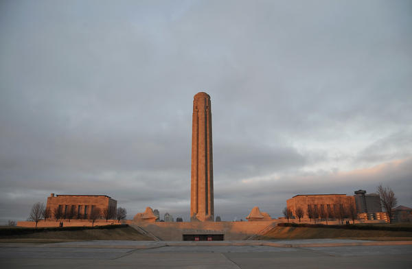 The National World War I Museum in Kansas City, where ceremonies are being held Thursday to mark the 100th anniversary of the U.S. entrance into the war.