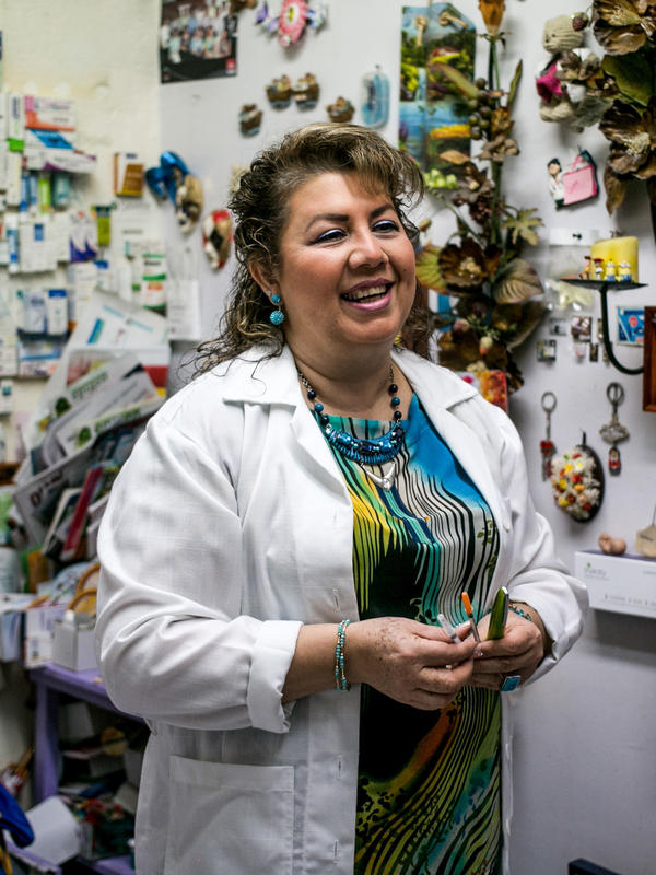 "Dr. Estrella Gomez says her patients don't want to accept that they have a disease for which there is no cure. ""Tell me anything but don't tell me I'm a diabetic,"" they say to her."