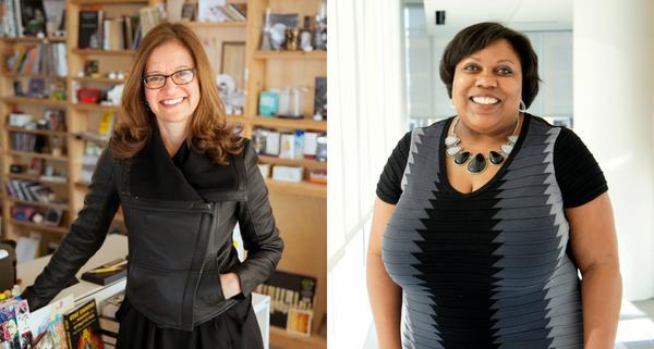 Left: Anya Grundmann Right: Marjorie Powell