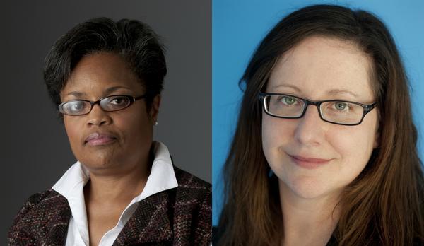 Left: Deborah Cowan Right: Gemma Hooley