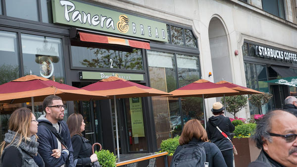 Panera Bread has grown from the 20-store Saint Louis Bread Company to some 2,000 locations. The company says it will be acquired by JAB for $315 per share in cash.