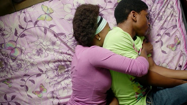 A scene from <em>MTV Shuga: Down South</em>, the new season of the soap opera that's filming in South Africa this year.