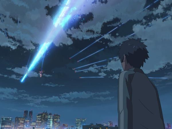 Director Makoto Shinkai adapted <em>Your Name. </em>from his own novel.