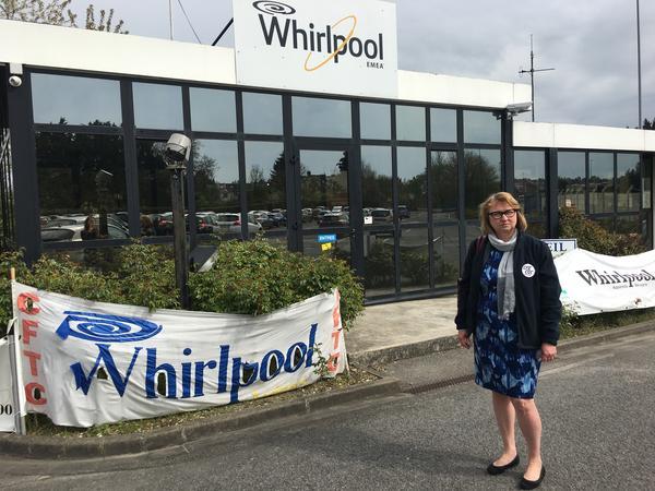 Whirlpool engineer Ceclie Delpirou